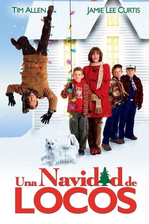 Póster película Una Navidad de locos