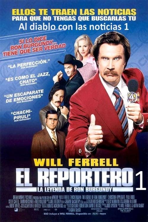 El reportero: la leyenda de Ron Burgundy poster