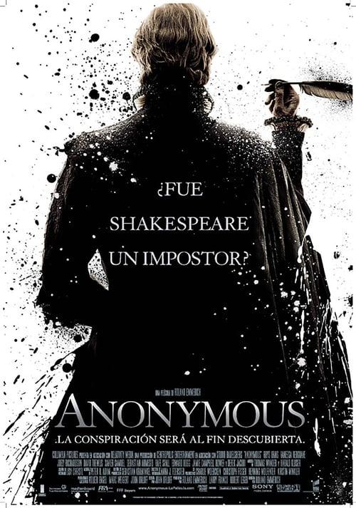 Póster película Anonymous