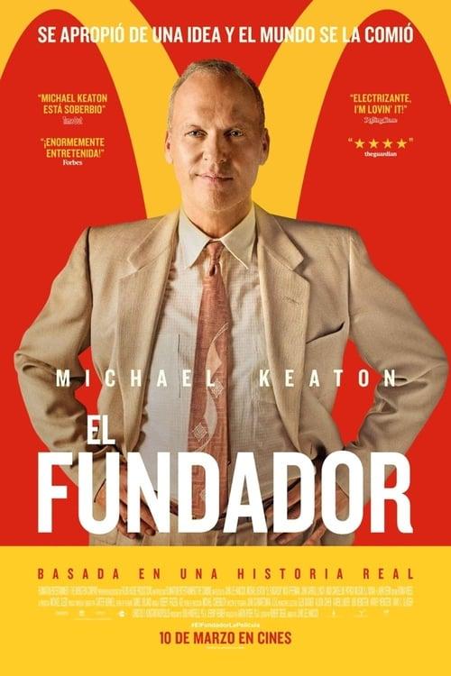 Póster película El fundador