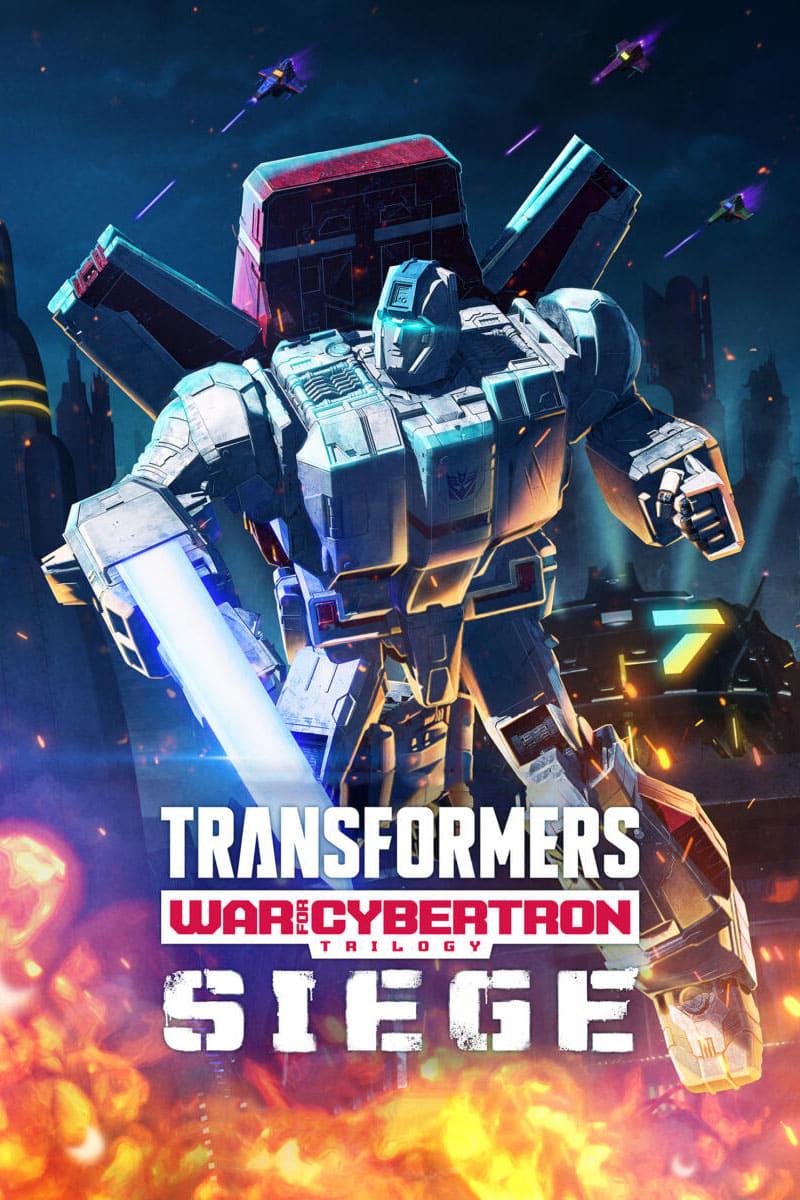 Transformers: La guerra por Cybertron - Asedio poster