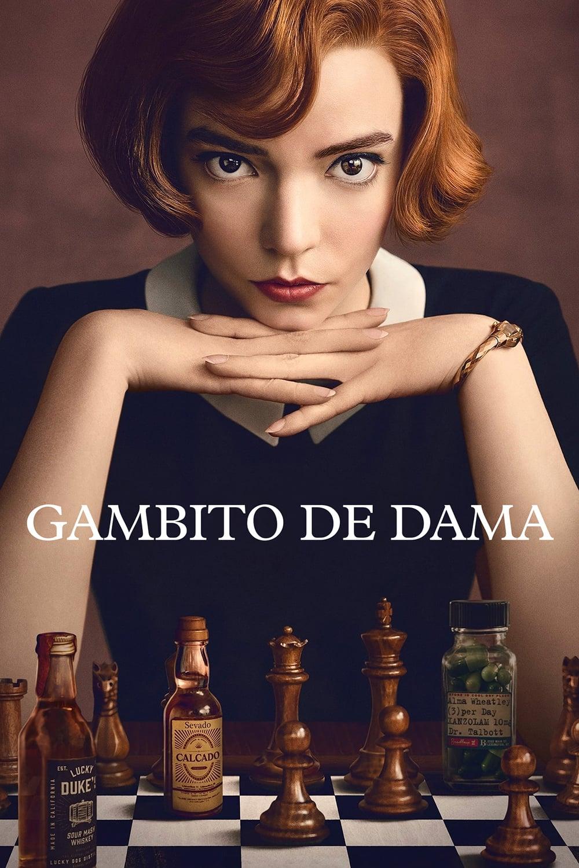 Gambito de dama poster