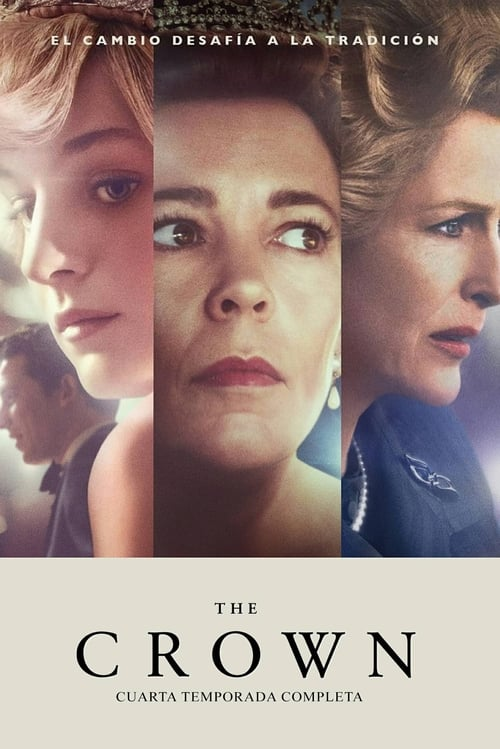 Póster serie The Crown