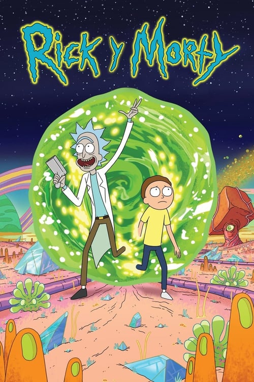 Rick y Morty poster