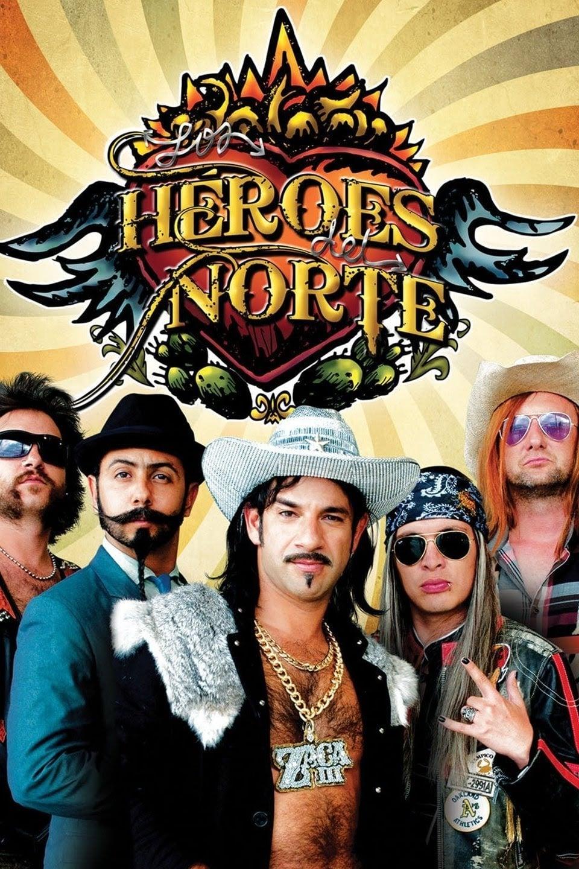 Los heroes del norte poster