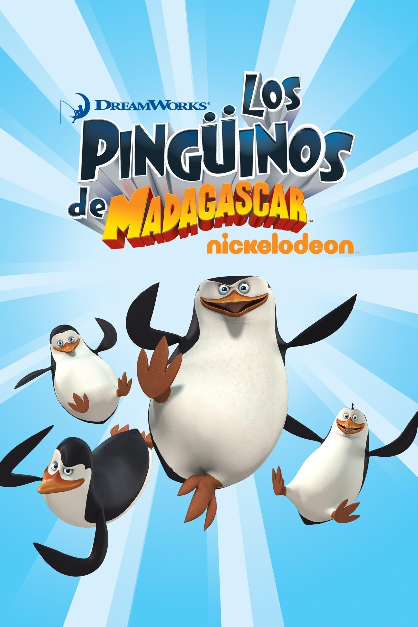 Los pingüinos de Madagascar poster
