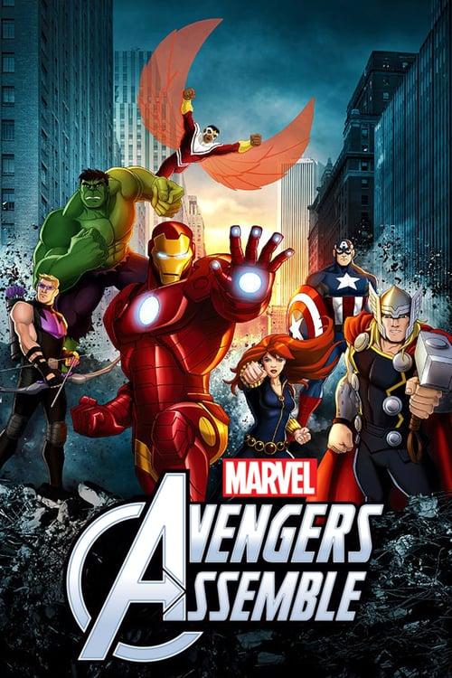 Los Vengadores unidos poster