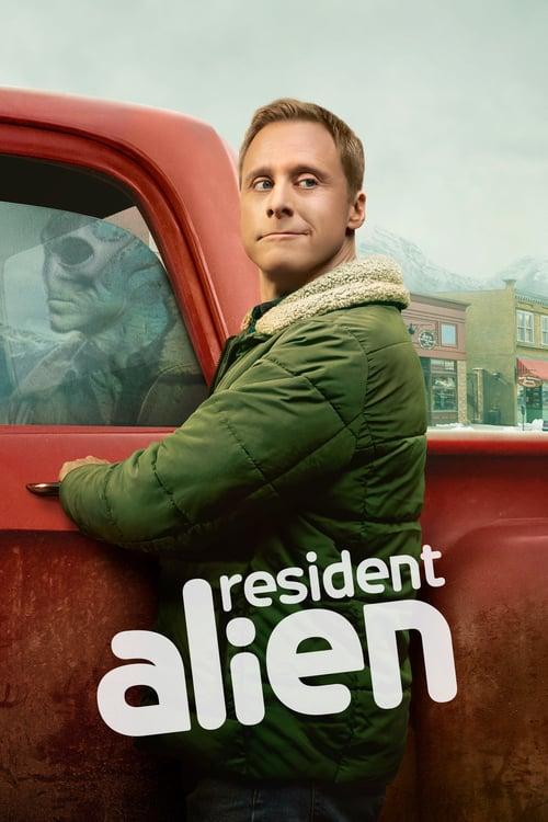 Póster serie Resident Alien