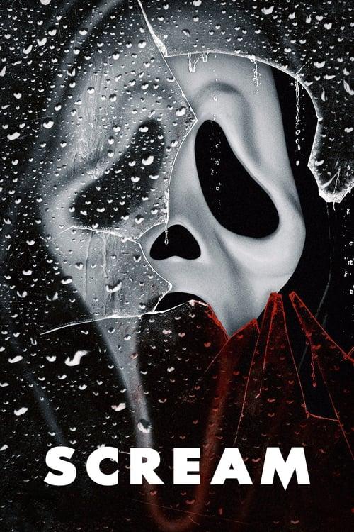 Póster película Scream