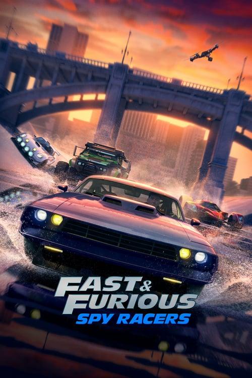 Fast & Furious: Espías a todo gas poster