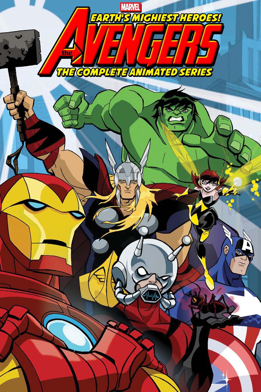 Los Vengadores: Los héroes más poderosos del planeta poster
