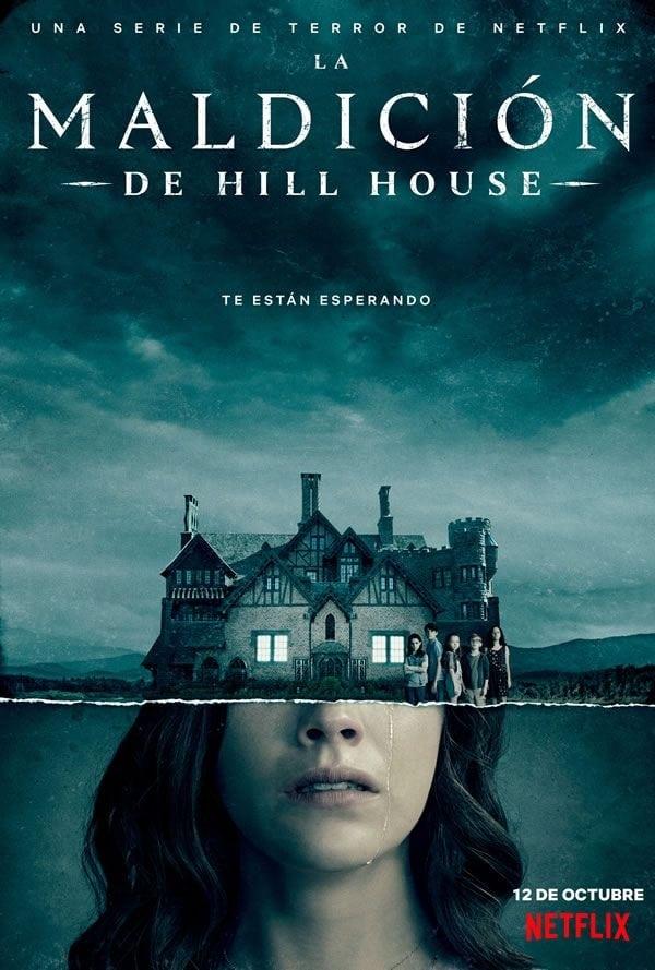 Póster La maldición de Hill House