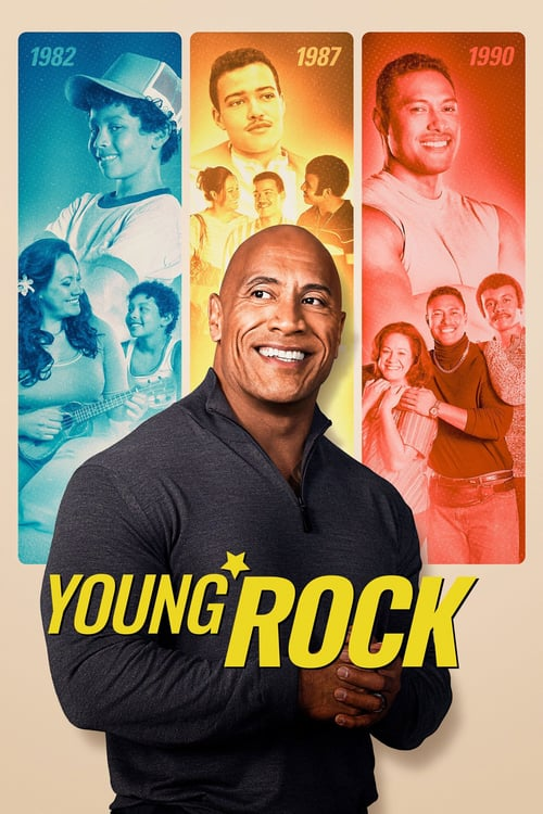 Young Rock poster