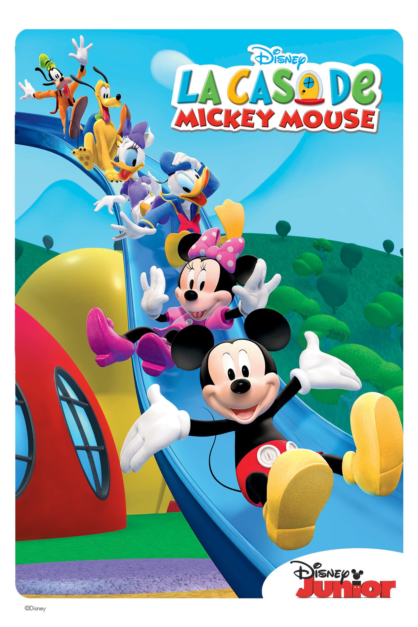 La casa de Mickey Mouse poster