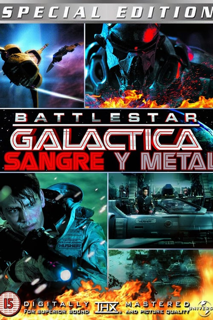 Battlestar Galactica: Sangre y metal poster