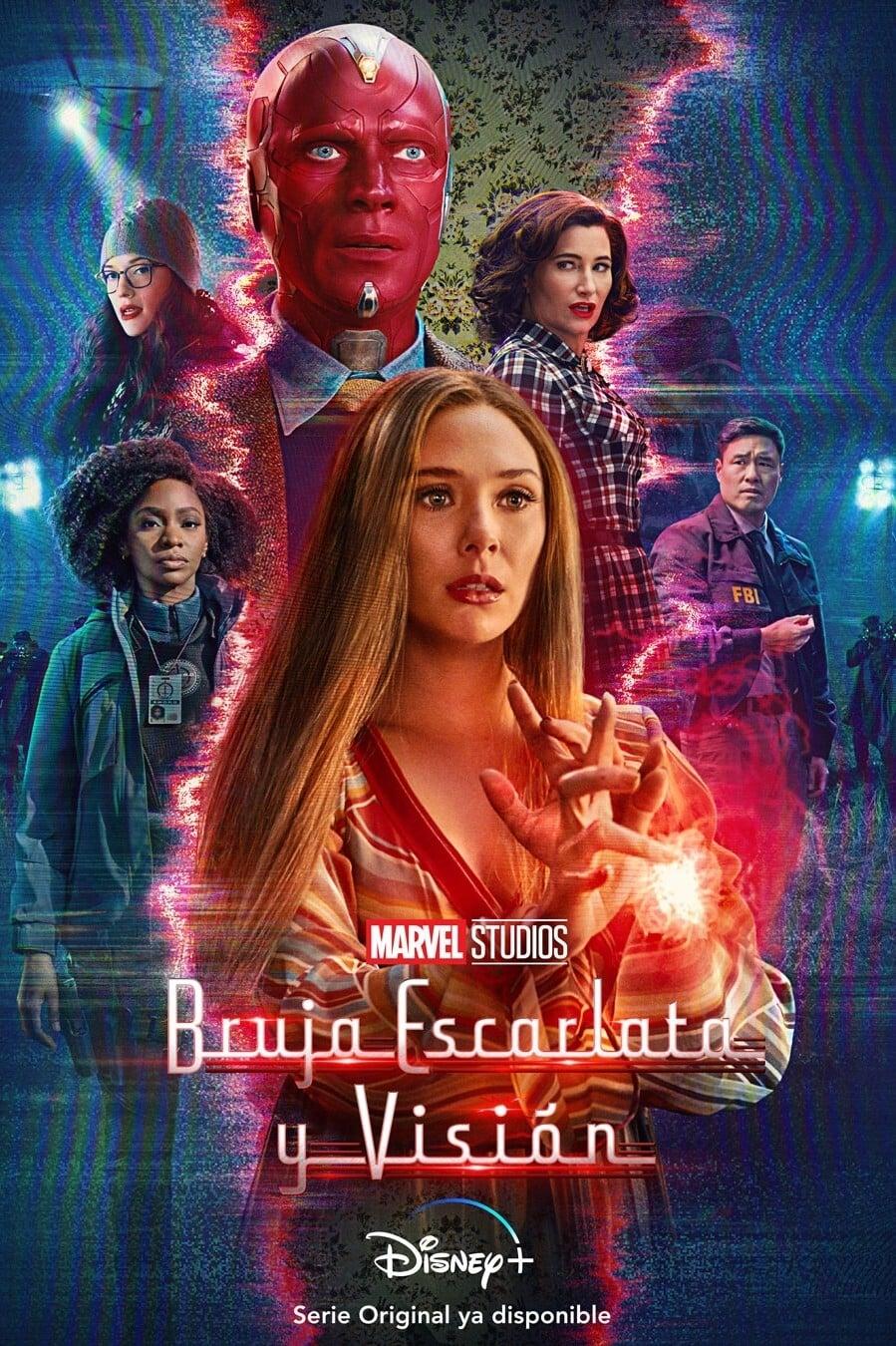 Bruja Escarlata y Visión poster