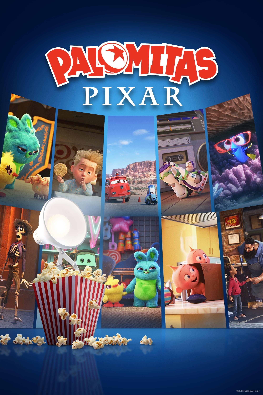 Palomitas Pixar poster