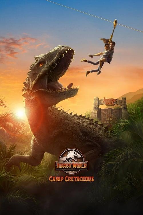 Jurassic World: campamento Cretácico poster
