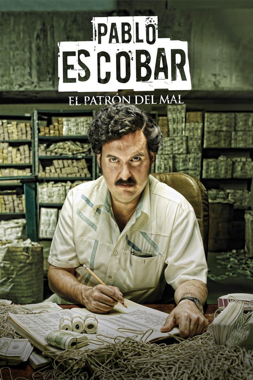 Póster Pablo Escobar, el patrón del mal