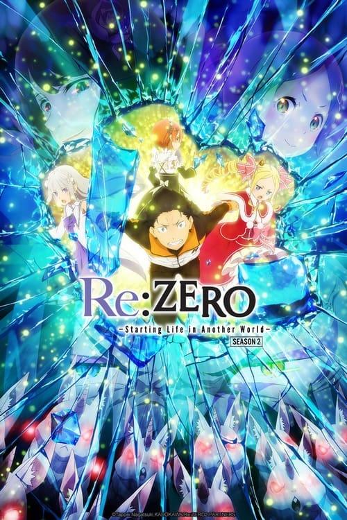 Póster Re:Zero Empezar de cero en un mundo diferente