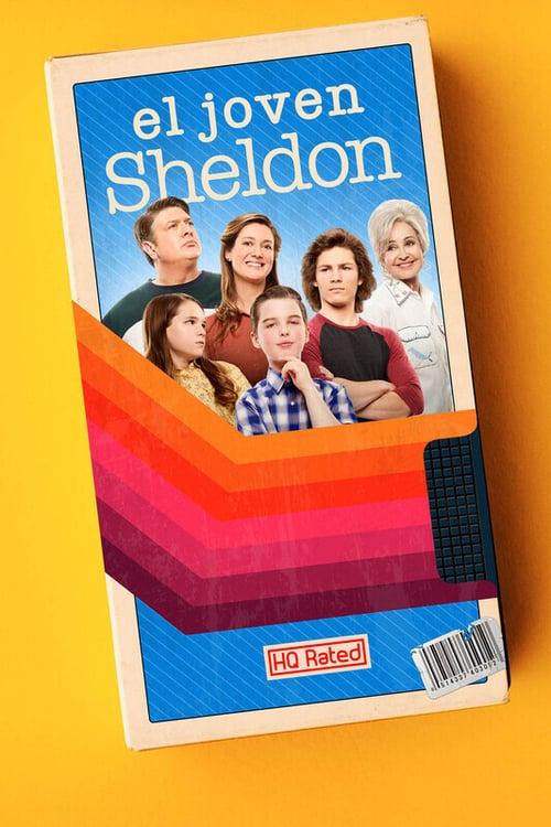 El joven Sheldon poster