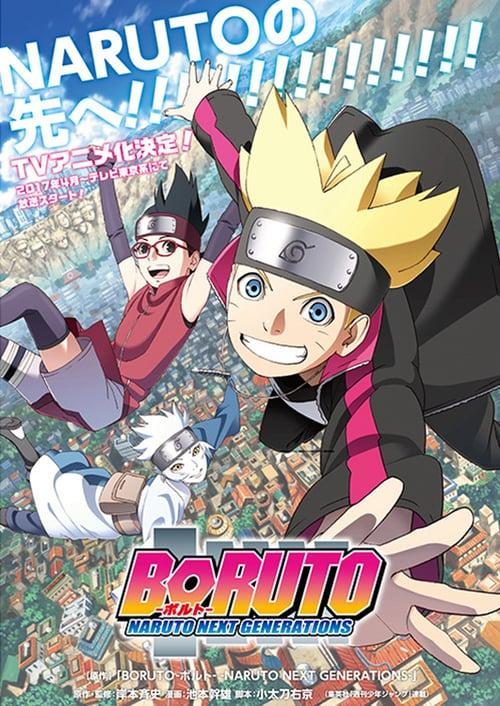 Póster película Boruto: Naruto Next Generations