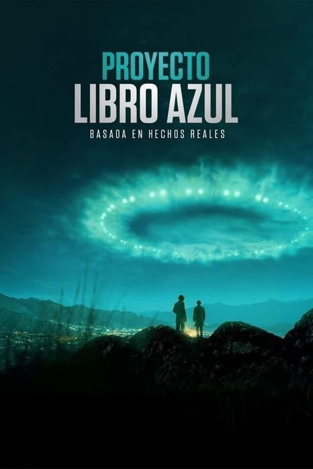Proyecto libro azul poster