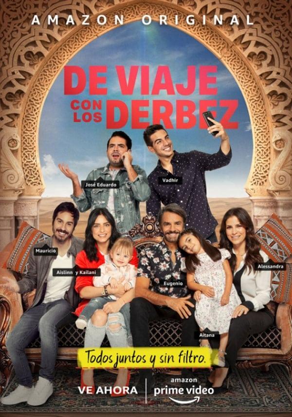 Póster película De viaje con los Derbez
