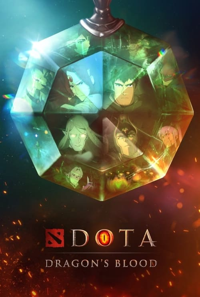 DOTA: Dragon's Blood poster