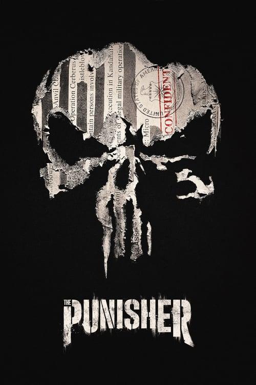 Póster película Marvel - The Punisher
