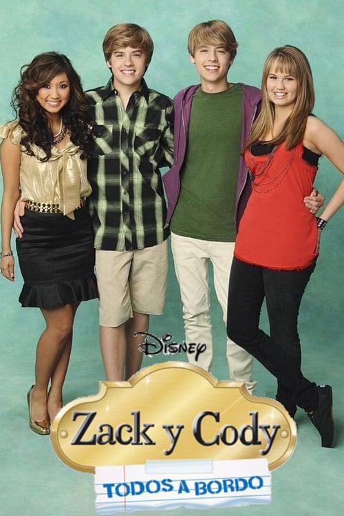 Póster Zack y Cody: Todos a bordo