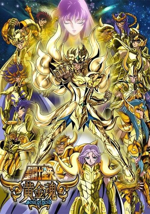 Los Caballeros del Zodiaco: Alma de oro poster