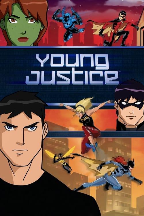 La joven Liga de la Justicia poster