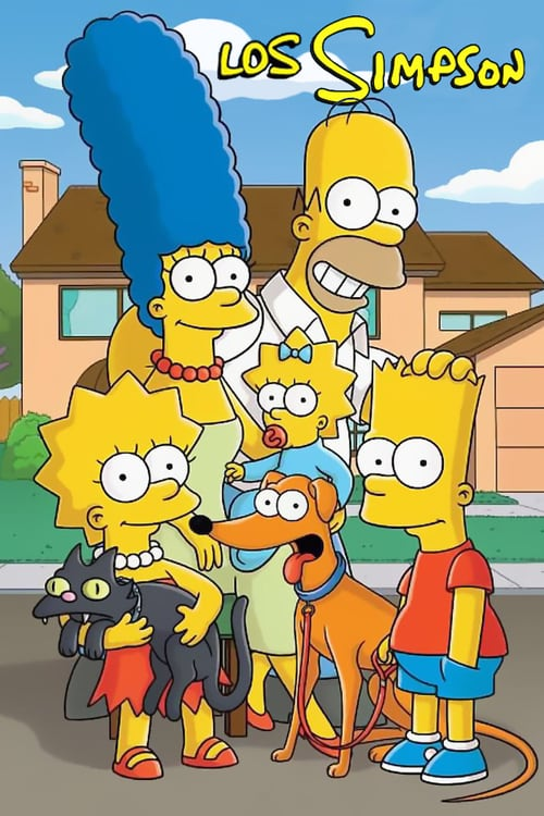 Póster Los Simpson