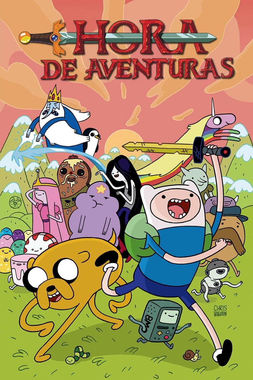 Hora de aventuras poster