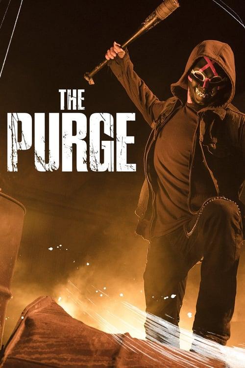 Póster película The Purge