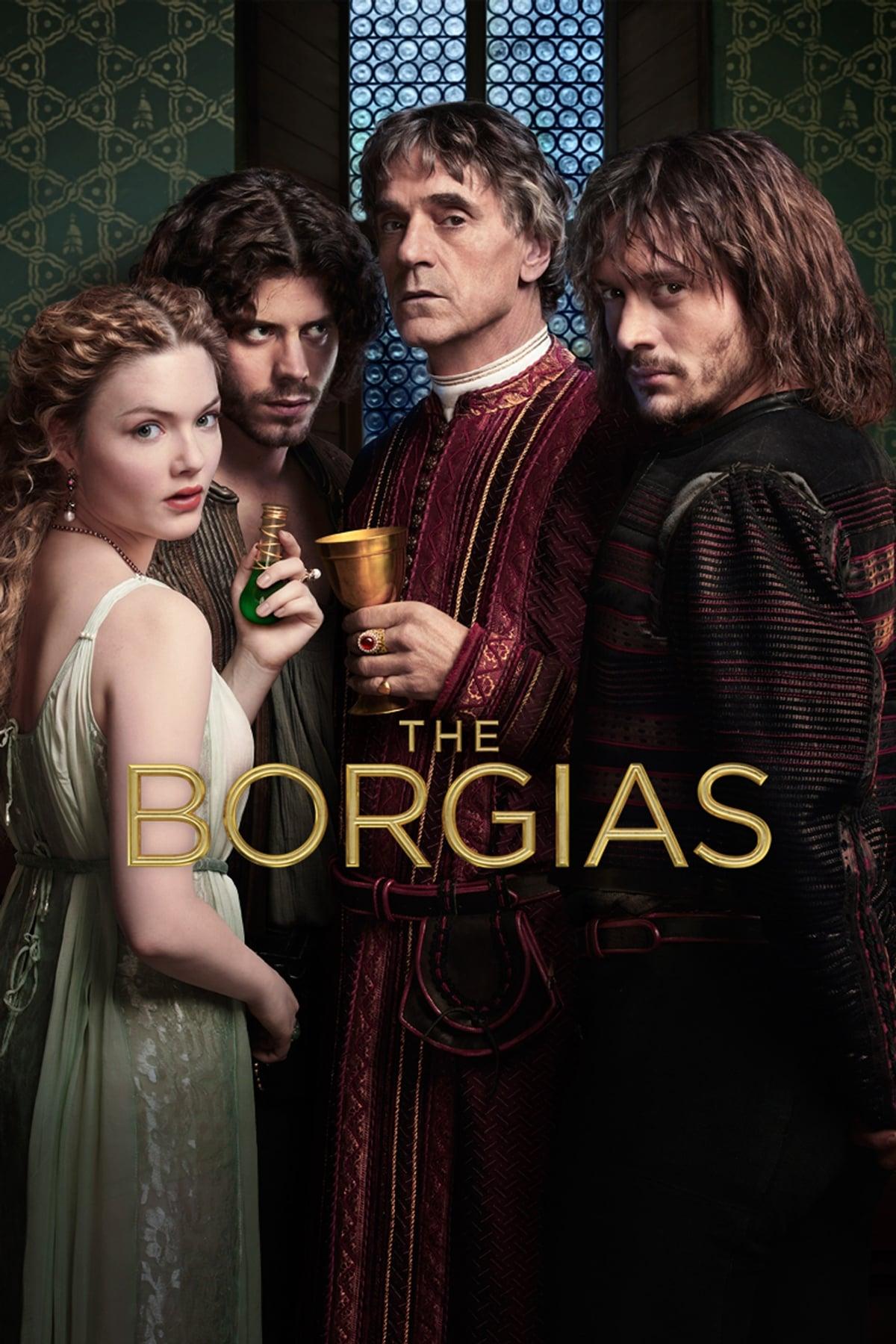 Póster película Los Borgia