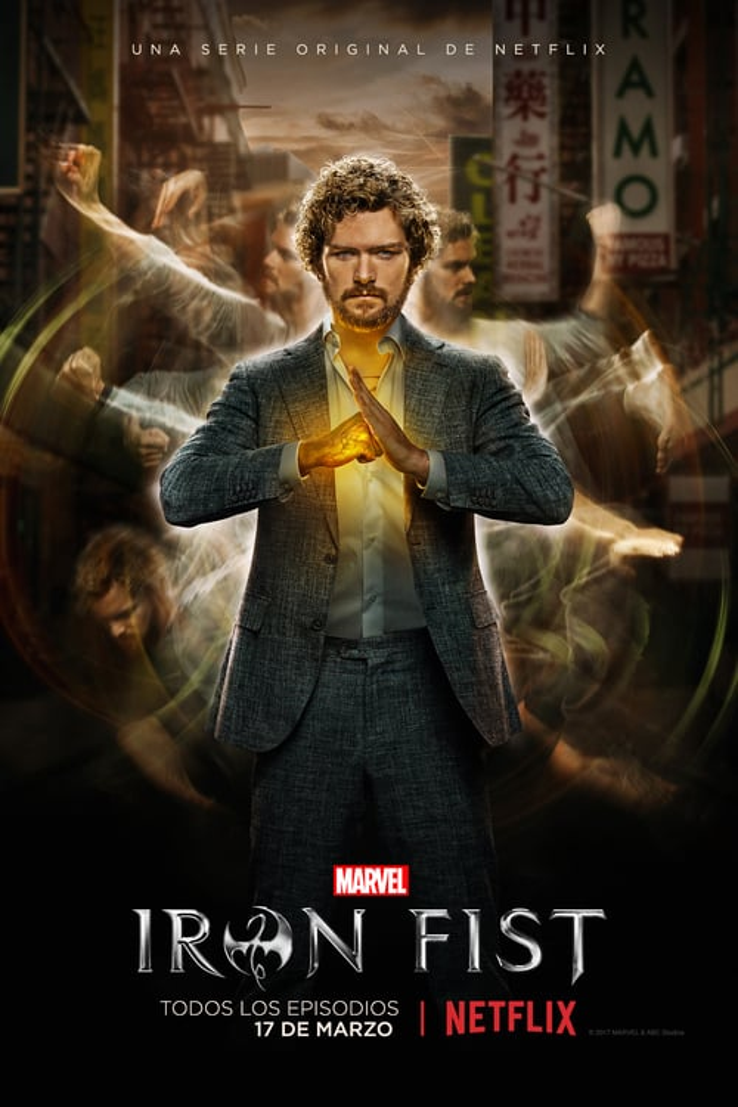 Marvel - Iron Fist poster