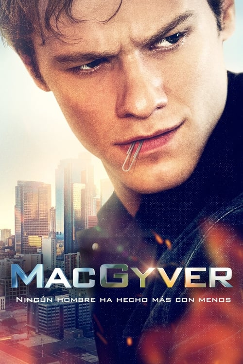 Póster serie MacGyver