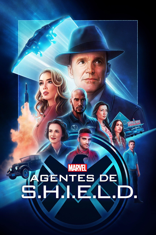 Póster Marvel Agentes de S.H.I.E.L.D.