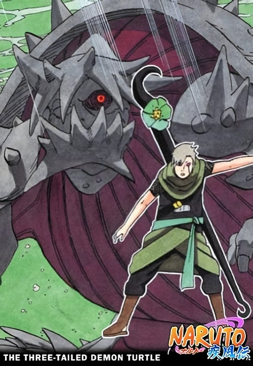 El arribo del Sanbi : Naruto Shippuden