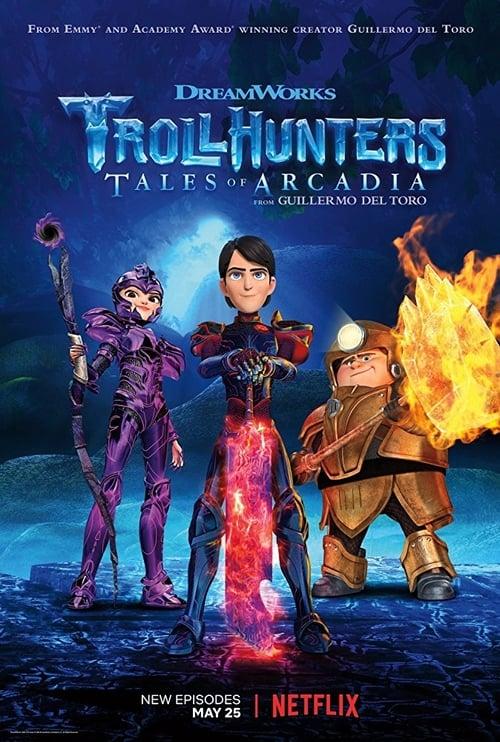 Temporada 3 : Trollhunters: Relatos de Arcadia